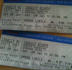 Legally Blonde Tickets at The Savoy