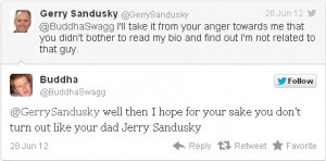 Gerry Sandusky Tweet 
