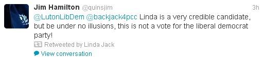 Linda Jack Twitter