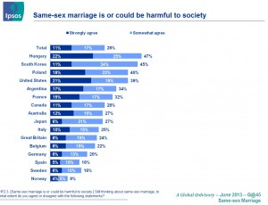 same sex marriage harmful